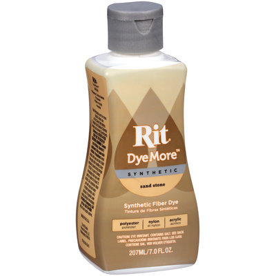Rit® DyeMore™ Synthetic Sand Stone Dye 7 fl. oz. Plastic Bottle