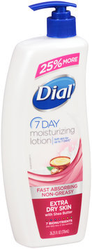 Dial® 7 Day Extra Dry Skin Moisturizing Lotion