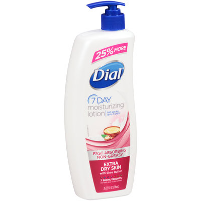Dial® 7 Day Extra Dry Skin Moisturizing Lotion 26.25 fl. oz. Bottle