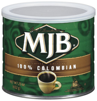 MJB 100% Colombian Coffee 23 Oz Can