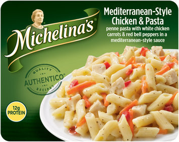 Michelina's® Mediterranean–Style Chicken & Pasta Frozen Dinner 8 oz. Package