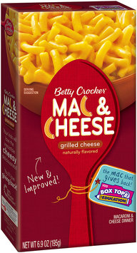 Betty Crocker® Grilled Cheese Mac & Cheese 6.9 oz. Box