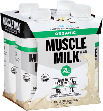 Muscle Milk® Organic Vanilla Non-Dairy Protein Shake