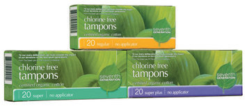 Seventh Generation Non-Applicator Tampons Version 1 Group Household Products