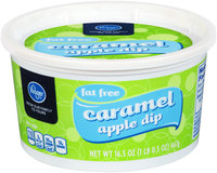 Kroger® Fat Free Caramel Apple Dip 16.5 oz. Tub