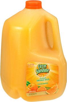 Citrus Sunshine® No Pulp Original Premium Orange Juice from Concentrate