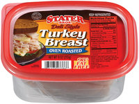 Stater Bros. Deli Style Oven Roasted Turkey Breast 9 Oz Tub