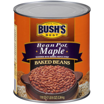 Bush's Best® Bean Pot® Maple Baked Beans 118 oz. Can