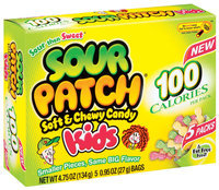 Sour Patch Soft & Chewy Candy Kids 100 Calorie Packs