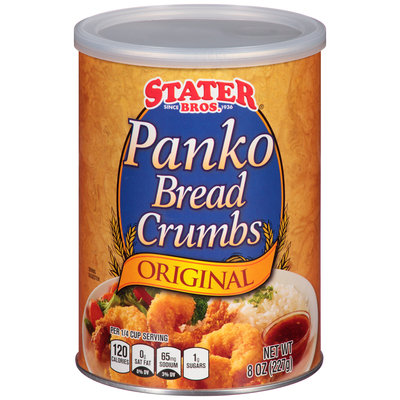 Stater Bros.® Original Panko Bread Crumbs 8 oz. Canister
