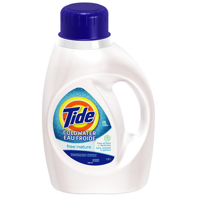 Tide Free for Coldwater Liquid Laundry Detergent 26 Loads 1.47 L