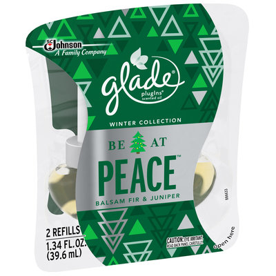 Glade® PlugIns® Be At Peace™ Scented Oil Refill Air Fragrance 2-1.34 fl. oz.