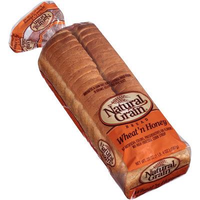 Natural Grain® Wheat 'n Honey Bread 20 oz. Bag