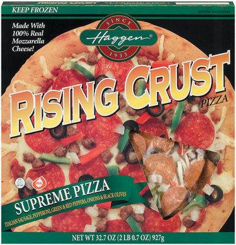 Haggen Rising Crust Supreme Pizza 32.7 Oz Box