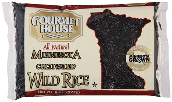 Gourmet House® Minnesota Cultivated Wild Rice 8 oz. Bag