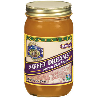 Lundberg Family Farms Ef Sweet Dreams Brn Rice Syrup Brown Rice Syrup 21 Oz Jar