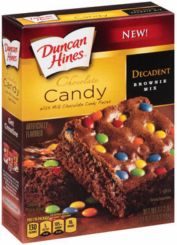 Duncan Hines® Decadent Chocolate Candy Brownie Mix