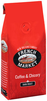French Market® Dark Roast Ground Coffee & Chicory 12 oz. Stand-Up Bag