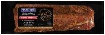 PrairieFresh® Natural Boneless Pork Loin Filet Rubbed with Cracked Rosemary 2 ct