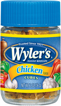 Wyler's® Chicken Bouillon Cubes 2 oz. Jar