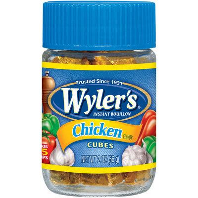 Wyler's® Chicken Bouillon Cubes 2 oz. Jar