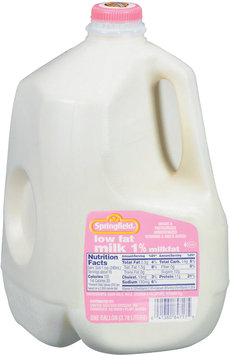 Springfield 1% Low Fat Milk 1 Gal Jug