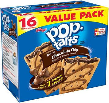 Kellogg's® Pop-Tarts® Frosted Chocolate Chip 16 ct Box