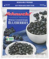 Schnucks Freshly Frozen Whole Unsweetened Blueberries