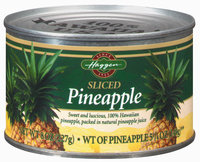 Haggen Sliced Pineapple 5.25 Oz Can