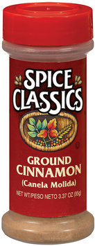 Spice Classics Ground Cinnamon 3.37 Oz Shaker