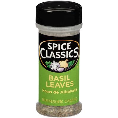 Spice Classics® Basil Leaves 0.75 oz. Shaker