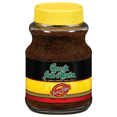 Chock Full O' Nuts Instant Coffee 7 Oz Jar