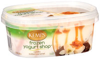 Kemps® Frozen Yogurt Shop™ Vanilla Salted Caramel Frozen Yogurt 1.87 pt. Tub