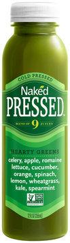 Naked Pressed™ Hearty Greens™ Juice 12 fl. oz Bottle