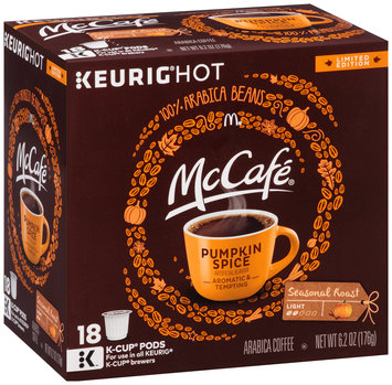 McCafe Limited Edition Pumpkin Spice Coffee K-Cup®