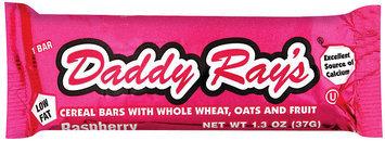Daddy Ray's Raspberry Lowfat Cereal Bar 1.3 Oz Wrapper