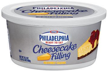 Kraft Philadelphia Heavenly Classic Ready-to-Eat Cheesecake Filling 24.3 Oz Tub