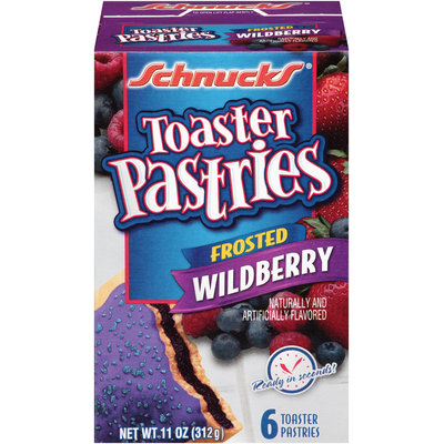Schnucks® Frosted Wildberry Toaster Pastries 6 ct Box