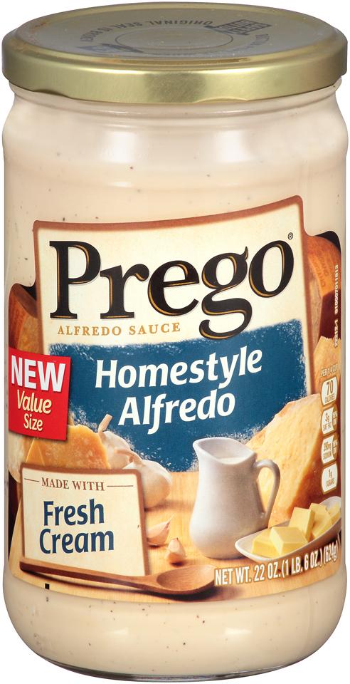 Prego® Homestyle Alfredo Sauce 22 oz. Jar