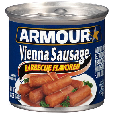 Armour® Barbecue Flavored Vienna Sausage 4.6 oz. Can