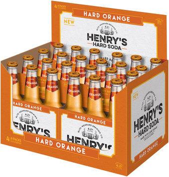 Henry's Hard Soda™ Hard Orange 24-12 fl. oz. Bottles