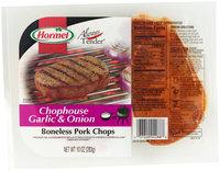 Hormel® Always Tender® Chophouse Garlic & Onion Boneless Pork Chops 10 oz. Pack