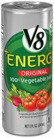 V8® +Energy Original Vegetable Juice 8 fl oz Can