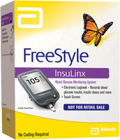 FreeStyle InsuLinx Blood Glucose Monitoring System Kit Not for Retail Sale