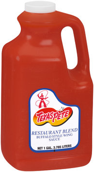 Texas Pete® Restaurant Blend Buffalo Style Wing Sauce 128 oz. Jug