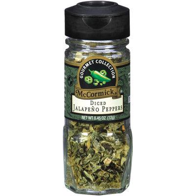 McCormick® Gourmet™ Diced Jalapeno Peppers 0.45 oz