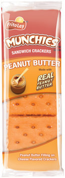 Munchies® Peanut Butter on Cheese Sandwich Crackers 1.42 oz. Pack