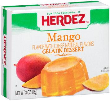 Herdez™ Mango Gelatin Dessert 3 oz. Box