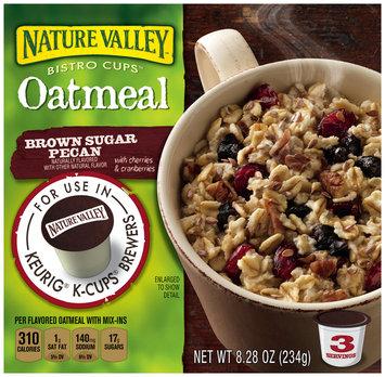 Nature Valley™ Bistro Cups™ Brown Sugar Pecan Oatmeal 8.28 oz. Box