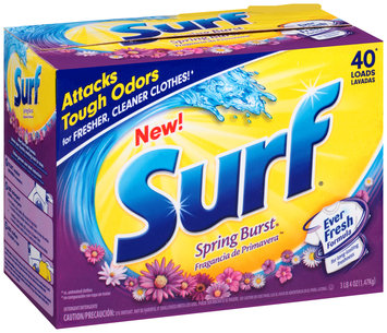 Surf® Spring Burst® Powder Laundry Detergent 52 oz. Box